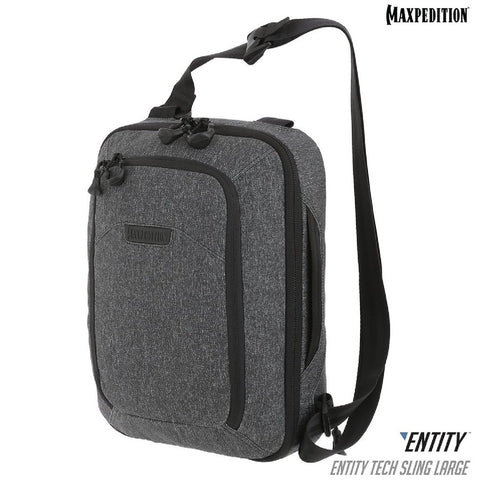 Maxpedition ENTITY Tech Sling Bag Large Charcoal