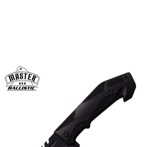 Master Assisted 3.75 in Blade Black ABS Handle