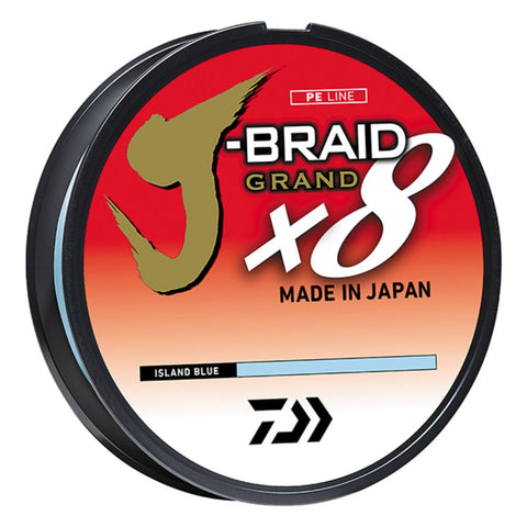 Daiwa J-Braid Grand 8X 300YDS Island Blue JBGD8U20-300IB