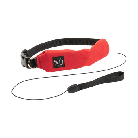 Nite Ize RadDog All-In-One Collar and Leash Medium Red