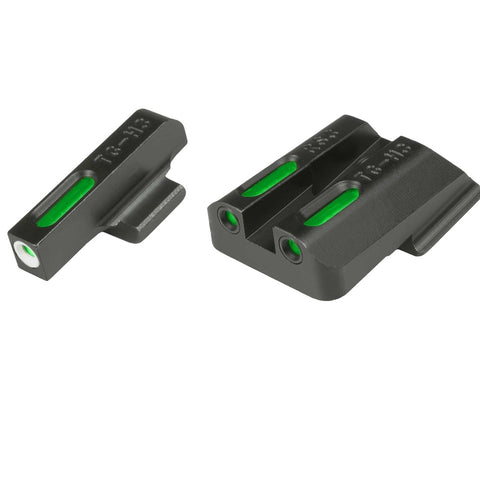 TruGlo TFX Tritium/Fiber Optic Handgun Sight - Walther CCP