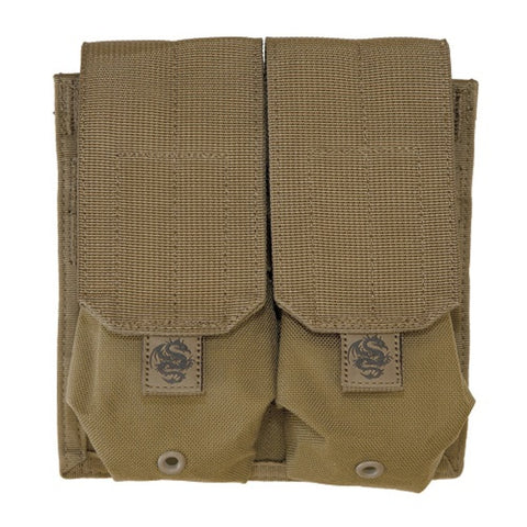 Tacprogear Coyote Tan Double Rifle Mag Pouch