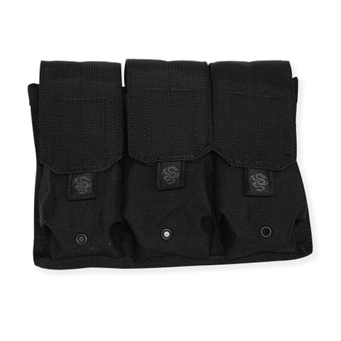 Tacprogear Triple Rifle Mag Pouch Black