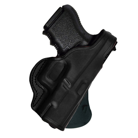 Tagua S&W J Frame 2-1/8in Thumb Break Paddle Holster Black
