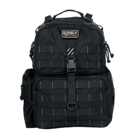 G.P.S. Tactical Range Backpack Black GPS-T1612BPB