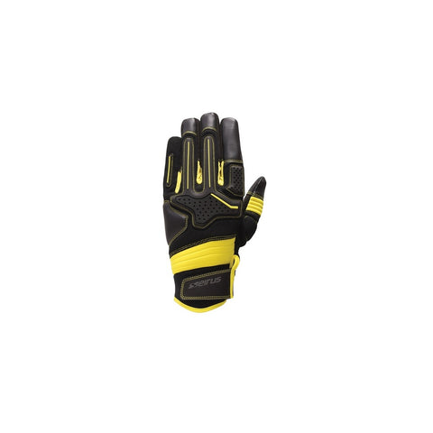 Seirus HWS Workman Dakota Glove Men Black-Yellow - Medium