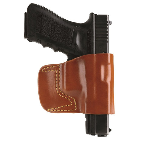 GandG Chestnut Brown Belt Slide Holster for Kahr Covert RH