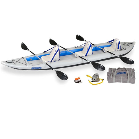 Sea Eagle FastTrack 465FTK Inflatable Kayak Deluxe