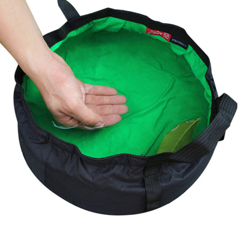 Portable Collapsible Wash Camping Folding Basin Bucket Camping cookware set Hiking Picnic Cooking Set non-stick Cookware