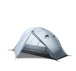 Oudoor Ultralight Camping Tent 3/4 Season 1 Single Person Professional 15D Nylon Silicon Tent Barracas Para Camping