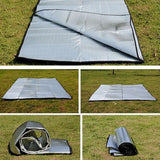 Portable Waterproof Outdoor Camping Picnic Moisture-proof Crawling Mat Tent Pad