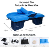 Travel Bed Car Air Inflatable Mattress Universal for Back Seat Multi functional Sofa Pillow Outdoor Camping Mat Cushion