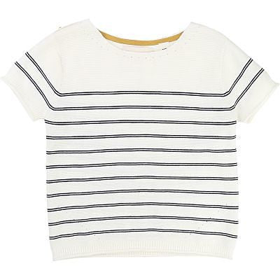 Stripe Knit Top | French Style