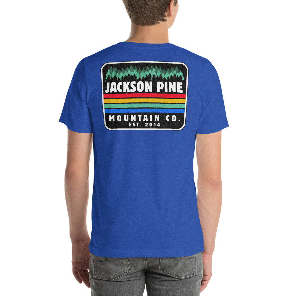 Retro Patch Adventure T-Shirt Royal