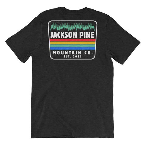 Retro Patch Adventure T-Shirt Black