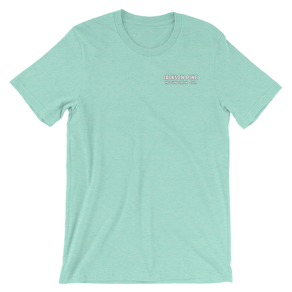 Retro Patch Adventure T-Shirt Mint