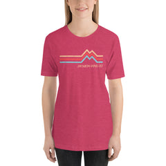 Mountain Peak Adventure T-Shirt Watermelon