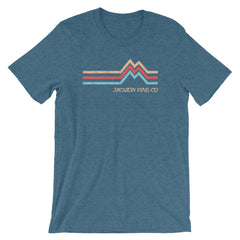 Mountain Peak Adventure T-Shirt Deep Teal