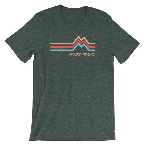Mountain Peak Adventure T-Shirt Forest