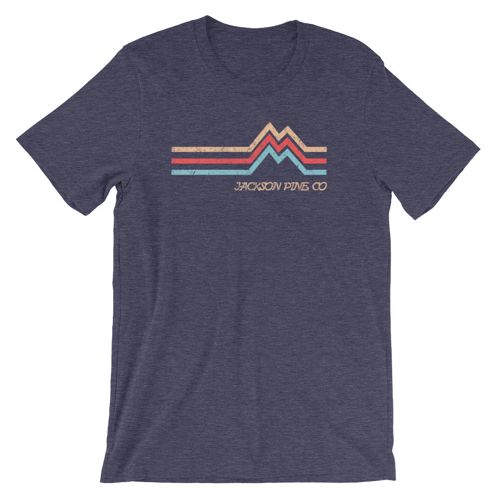 Mountain Peak Adventure T-Shirt Navy
