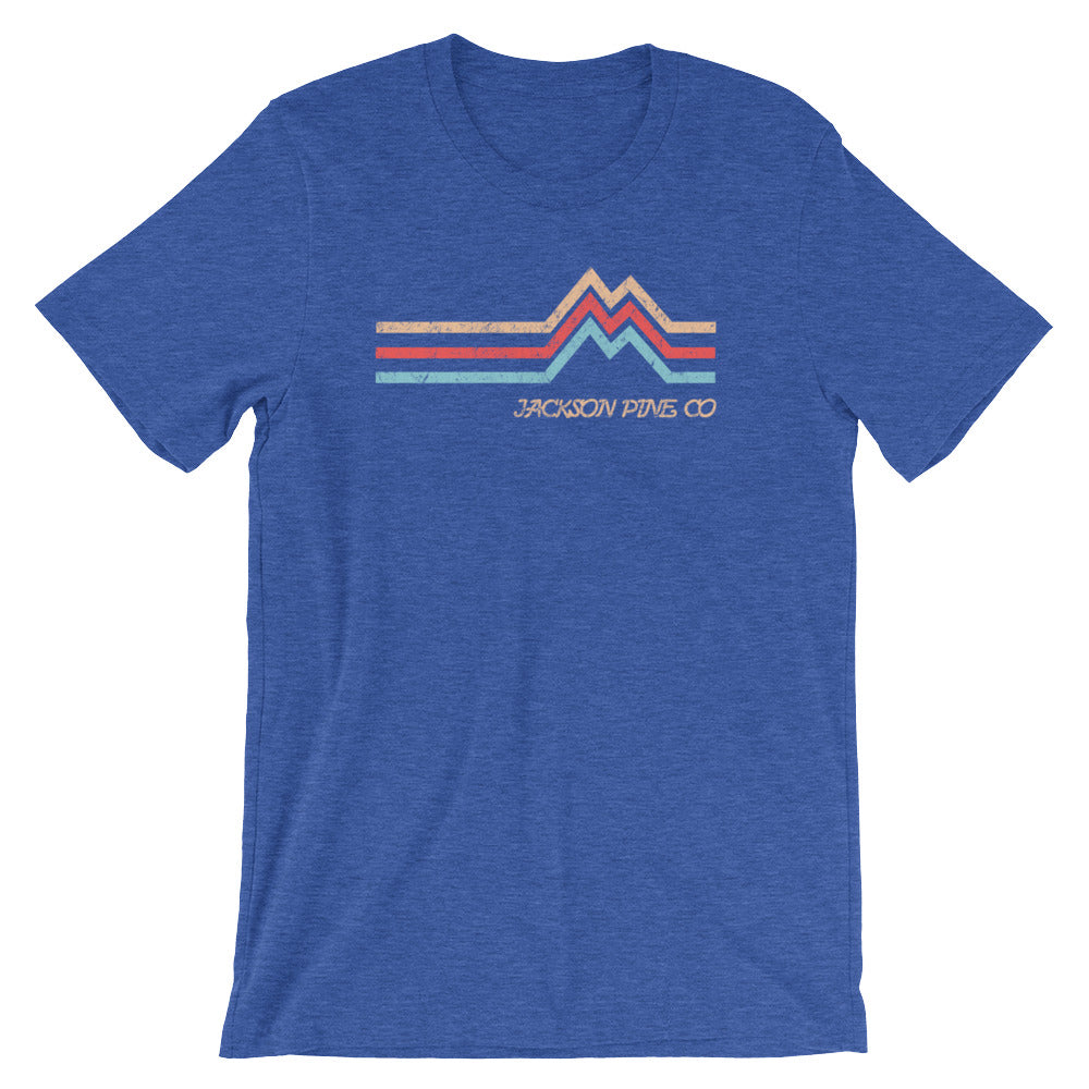 Mountain Peak Adventure T-Shirt Royal