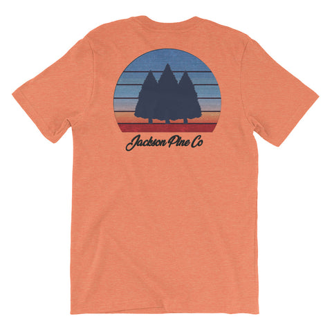 Sunset Pine Orange