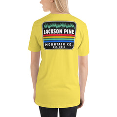 Retro Patch Adventure T-Shirt Yellow