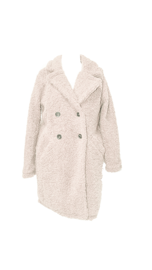 Teddy Coat (Ivory)
