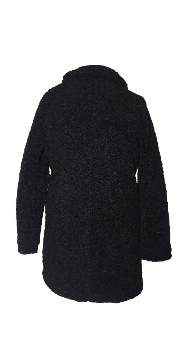 Teddy Coat (Black)