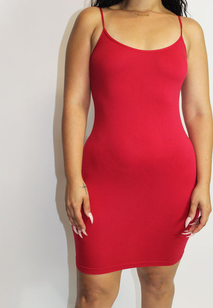 Cami Dress (Red)
