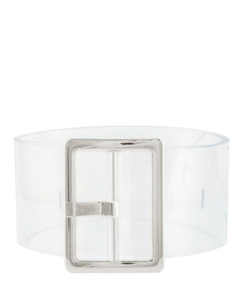 Transparency Belt Silver