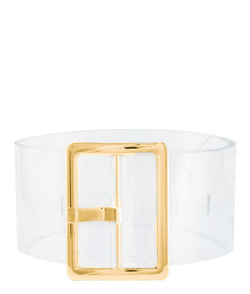 Transparency Belt Gold