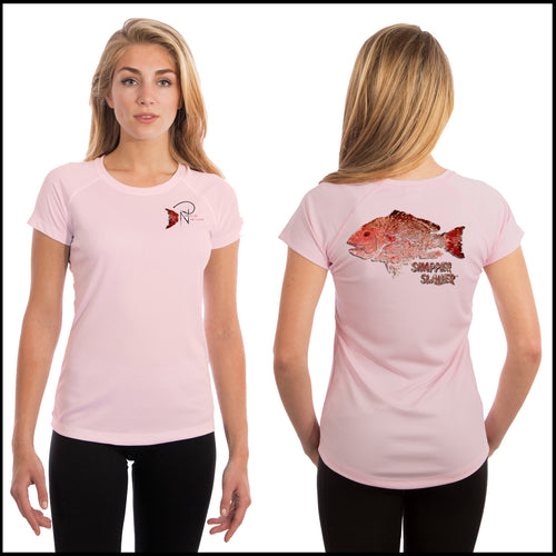 Snapper Slayer - Women's Short Sleeve Solar
