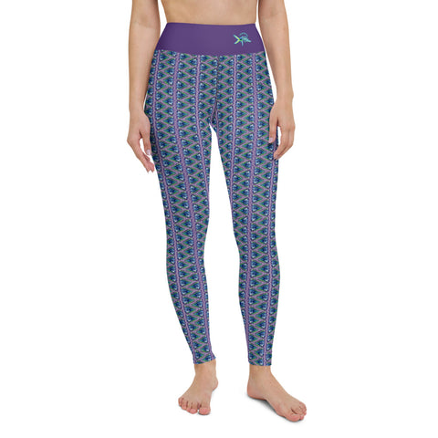 Mahi Turtle Shell Yoga Leggings