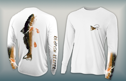 Redfish Reaper YOUTH Performance Long Sleeve