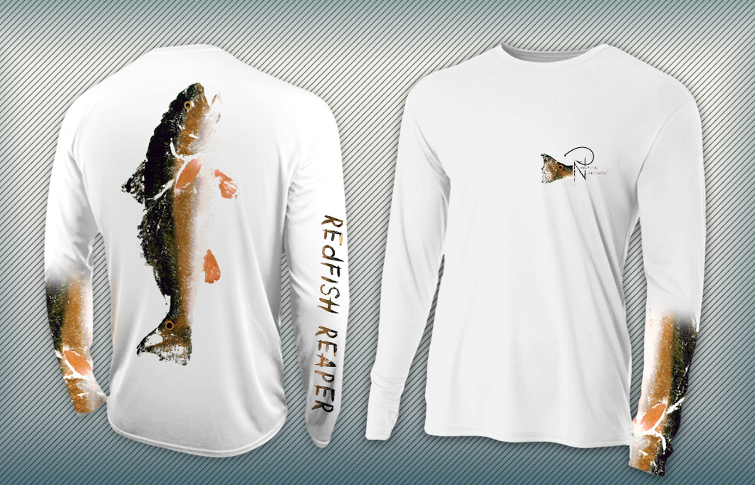 Redfish Reaper - YOUTH Performance Long Sleeve