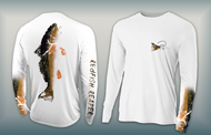 Redfish Reaper - Women's Performance Long Sleeve