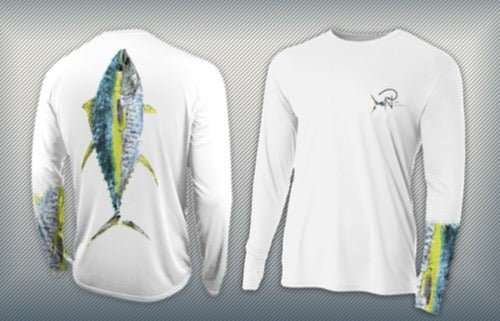 Tuna Terminator - YOUTH Performance Long Sleeve