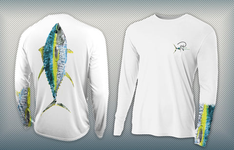 Tuna Terminator Men's Performance Long Sleeve