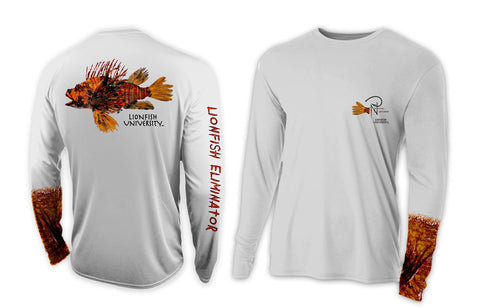 Lionfish University Lionfish Eliminator Men's Performance Long Sleeve