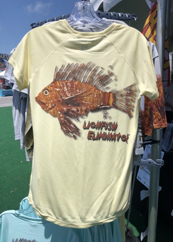 Lionfish Eliminator Women's Performance Short Sleeve Solar
