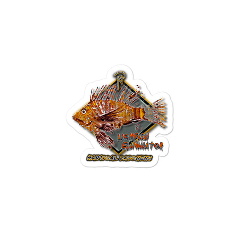 Lionfish Eliminator Sticker