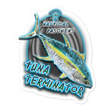 Tuna Terminator Sticker