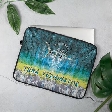 Tuna Terminator Laptop Sleeve