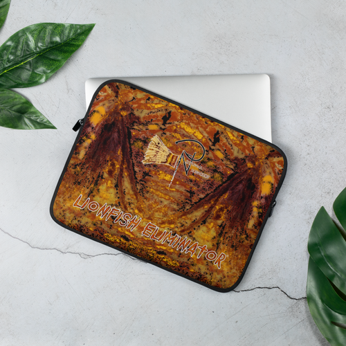Lionfish Eliminator Laptop Sleeve