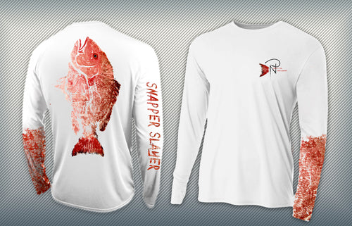 Snapper Slayer - Men's Performance Long Sleeve