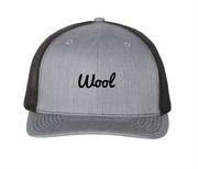 "Limited Time - Black & Gray ""Wool"" Trucker"