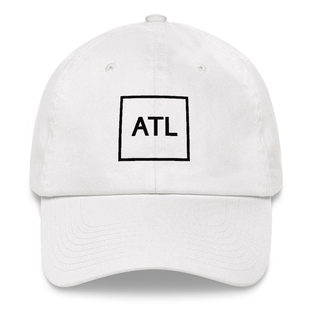 Black ATL Dad Hat - Multiple Color Options