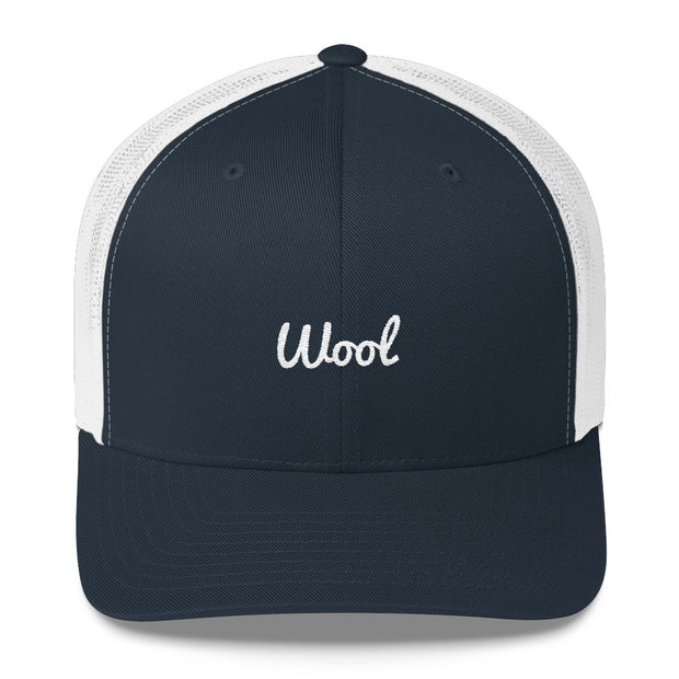 "Signature ""Wool"" Trucker Cap"