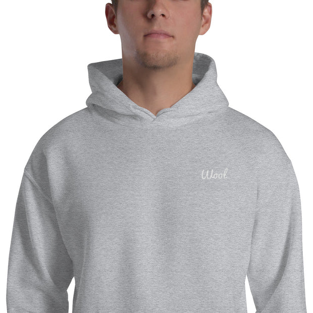 """Wool"" Hooded Sweatshirt"